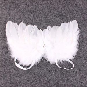 Other - NEWBORN PHOTO PROP WHITE WINGS